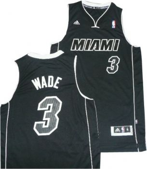 Miami Heat Dwyane Wade Black