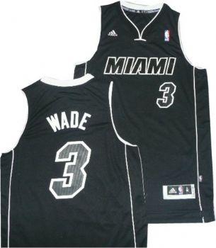 7ab7c8f9fbb8 ... clearance miami heat dwyane wade black white adidas swingman jersey  stadiumstyle 21f0a 14de5