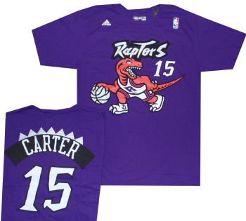 737cd9d9833c Vince Carter Shirt Jersey Toronto Raptors Throwback Vintage Adidas ...