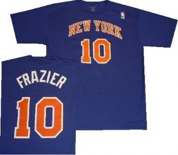 the best attitude c2ea7 9b8e2 New York Knicks Walt Frazier Throwback Adidas T Shirt ...