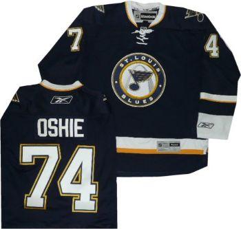 newest 04baa f6107 St Louis Blues TJ Oshie Reebok Premier Alternate Jersey ...