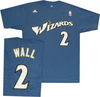 pick up a0af0 9f16c Washington Wizards John Wall Adidas T Shirt Jersey ...