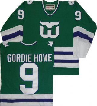 detailed look 87343 2cdb0 gordie howe hartford whalers jersey