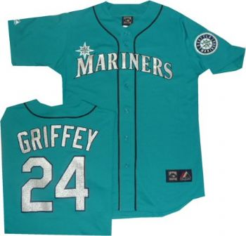 info for 78a1e 4e3b3 Seattle Mariners Ken Griffey Throwback Vintage Blue Majestic ...