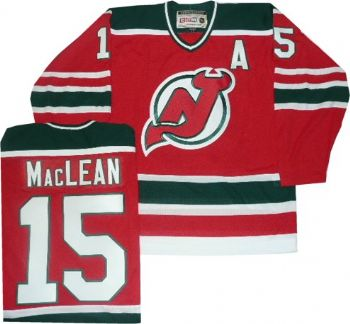 competitive price eb7f5 7e646 New Jersey Devils John Maclean Throwback Green Jersey ...