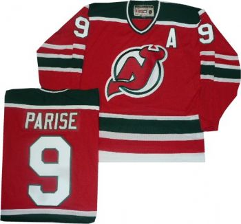 9370d3450 New Jersey Devils Zach Parise Throwback Green Jersey