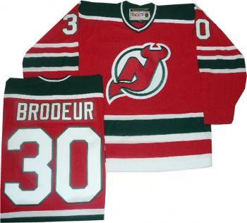 New Jersey Devils Martin Brodeur Throwback Green Jersey