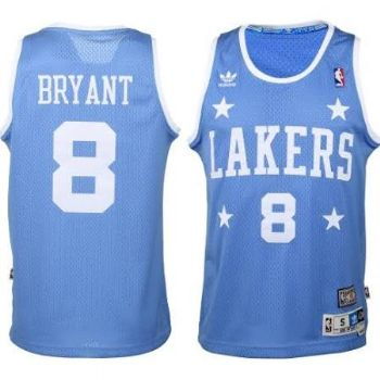 8be747fe2fb0 Los Angeles Lakers Kobe Bryant Throwback Blue Adidas Swingman Jersey ...