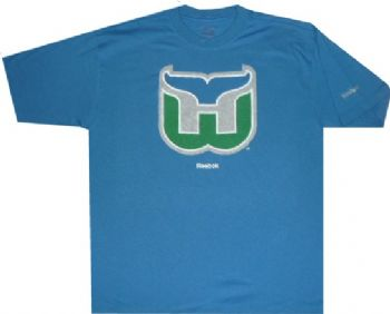 Hartford whalers throwback reebok light blue pro style t for T shirt printing hartford ct
