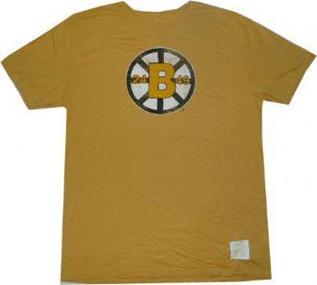 Boston bruins throwback vintage retro sport slim fit t for Boston bruins vintage shirt