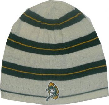 Green Bay Packers Reebok Throwback Vintage Cuffless Knit Beanie ... 32ca76aac