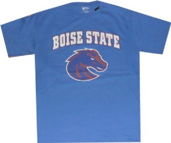 Boise state broncos arch faded print shirt by gear for Boise t shirt printing