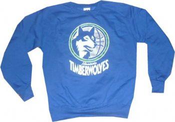 save off ec670 d3fc5 Minnesota Timberwolves Throwback Vintage Majestic Crew ...