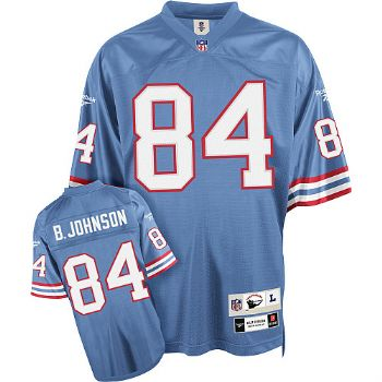 32d7ca751 Houston Oilers Billy Johnson Blue Premier Throwback Jersey ...