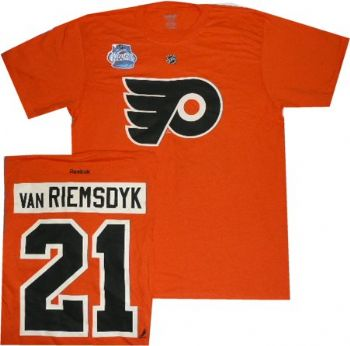Philadelphia Flyers James Van Riemsdyk Winter Classic T Shirt ... 2b2ea60fb