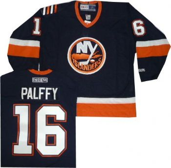 best sneakers 91343 613fe New York Islanders Zigmund Palffy Throwback CCM Navy Jersey ...