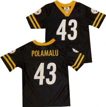 Pittsburgh Steelers Troy Polamalu Toddler NFL Jersey  b0f730356