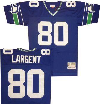 innovative design 60891 c4ead Seattle Seahawks Steve Largent Premier Throwback Mitchell ...