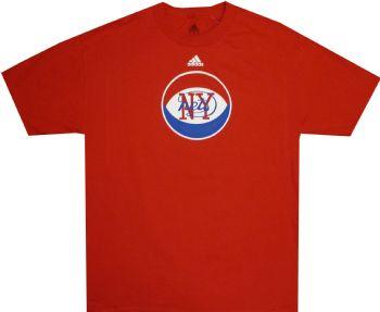 new styles bb636 b3fd7 New Jersey Nets Vintage Logo Adidas ABA T Shirt ...