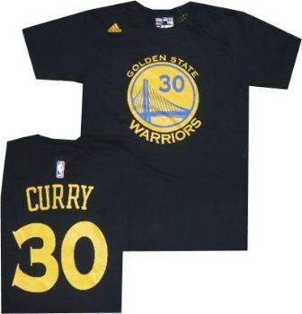 Golden State Warriors Stephen Curry Adidas Black T Shirt ... 4c3e66952