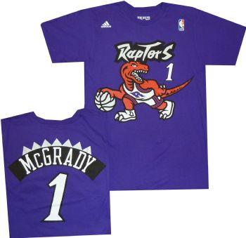 1e32d861f9e Toronto Raptors Tracy McGrady Throwback Vintage Adidas Shirt |  StadiumStyle.com