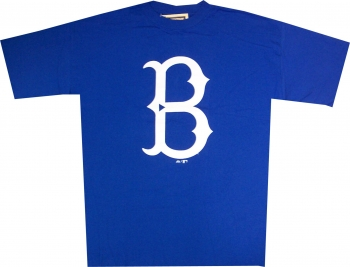 the latest 07a89 3cb21 Brooklyn Dodgers Throwback T Shirt by Majestic ...