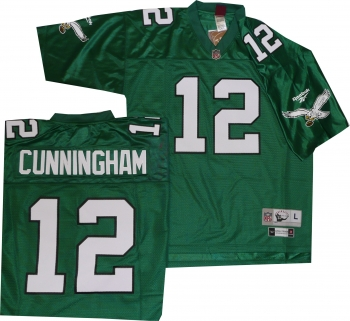 495d467bb Philadelphia Eagles Randall Cunningham Green Reebok Premier Throwback |  StadiumStyle.com