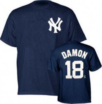 Image result for johnny damon yankees shirt