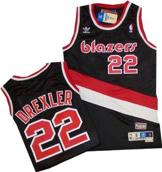 bcc7997fa530 Portland Trailblazers Clyde Drexler Adidas Swingman Jersey ...