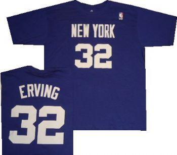 reputable site 67ec0 1b2e3 New York Nets Julius Erving Throwback Royal Blue Shirt ...