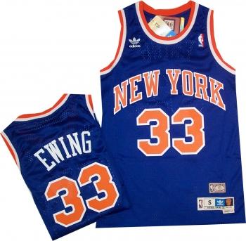 online retailer b8db5 fcfb1 New York Knicks Patrick Ewing Hardwood Classics Swingman ...
