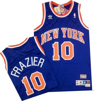 new product faa38 f666c New York Knicks John Starks Hardwood Classics Swingman White ...