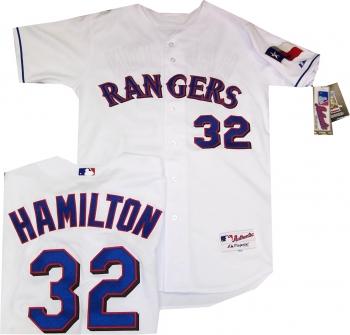 pretty nice d69db 5d0b1 texas rangers hamilton shirt