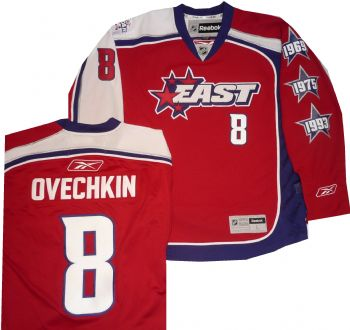 best loved 4d106 f7abc Washington Capitals Alexander Ovechkin 2009 RBK Authentic ...
