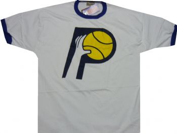 quality design 2fec3 a40fa Indiana Pacers Throwback Hardwood Classics Ringer Shirt ...