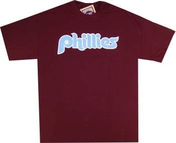Philadelphia Phillies 1980 Throwback T Shirt by Majestic ... cc2ef4d1a2b