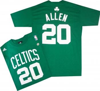 7fe2baf60 Ray Allen Boston Celtics Adidas T Shirt Jersey