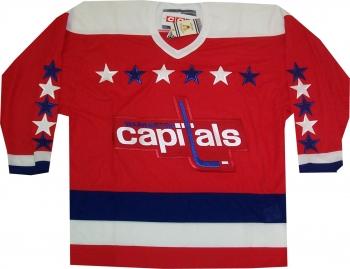 Washington Capitals Vintage Throwback 1992 Red Jersey  0e3aedd19