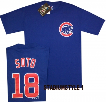 Chicago Cubs Geovany Soto Name and