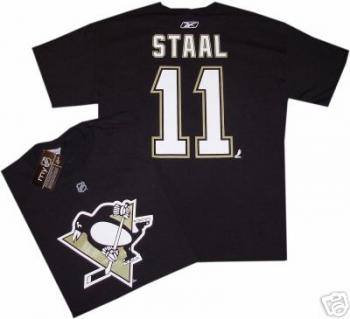 new product 426b8 15594 Pittsburgh Penguins Jordan Staal Reebok T Shirt jersey ...