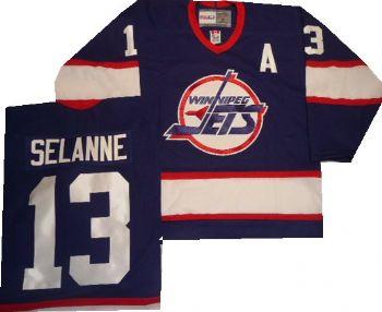 outlet store c05a1 fc8f6 teemu selanne winnipeg jets jersey number