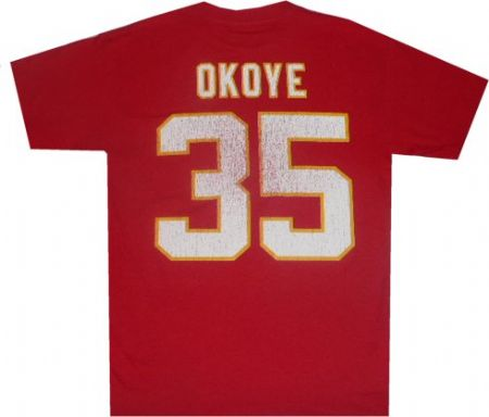 big sale 89920 3d706 Kansas City Chiefs Christian Okoye Reebok Throwback ...