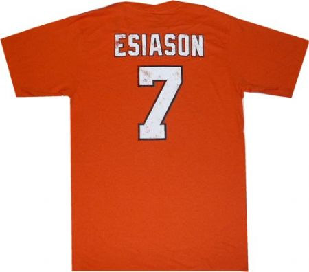 Cincinnati bengals boomer esiason reebok throwback for Vintage bengals t shirts