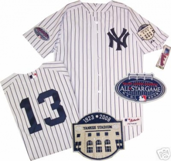 best service c2a31 3155e New York Yankees Alex Rodriguez Authentic Home Stadium Patch ...