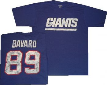 new product 9d0ff 21d45 New York Giants Mark Bavaro Reebok Throwback Distressed ...
