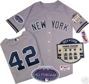 online retailer 432ab ec7f9 New York Yankees Mariano Rivera Authentic Road Jersey ...