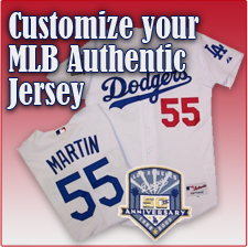 Customize Your MLB Authentic Jersey