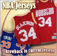 NBA Jerseys - Throwback To Current Jerseys