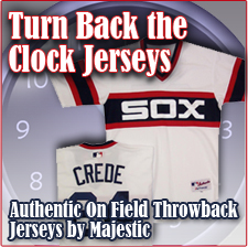 Turn Back The Clock Jerseys - Authentic On Field Throwback Jerseys